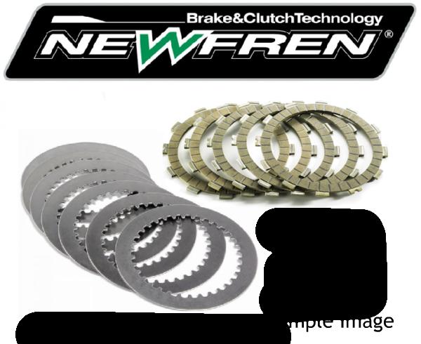 1994 - 1996 KTM 620 Duke Newfren performance fibre and steel clutch plate kit