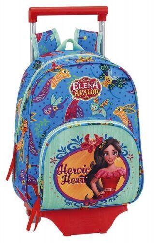 Elena d/'Avalor sac à dos Disney cartable roulettes trolley M maternelle 280353