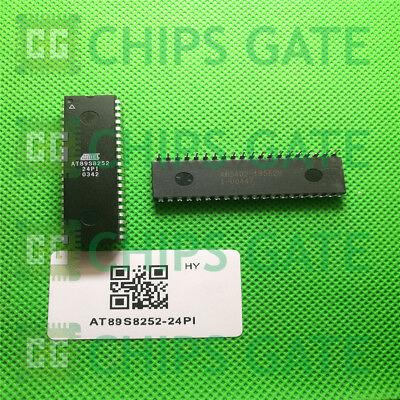 DIP-40 1PCS NEW AT89S8252-24PI ATMEL 0517