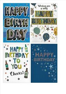 Happy Birthday Images For Men.Details About Mens Happy Birthday Card Modern Script Boy Male Men Teen Various Multi Listing