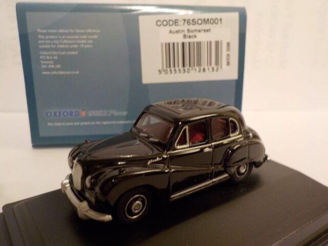 Austin Somerset, Black, Model Cars, Oxford Diecast