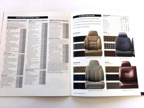 1999 Chevrolet Silverado C//K Truck Sales Brochure Book 2500 3500 HD 1500