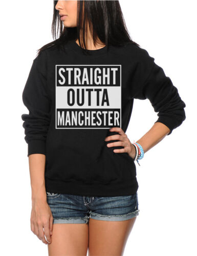 Dre Compton Gift England Womens Sweatshirt Straight Outta Manchester