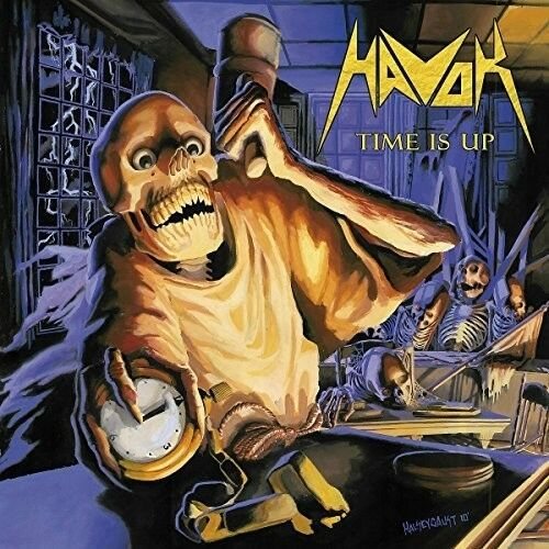 Havok - Time Is Up [New CD] Reissue, Canada - Import