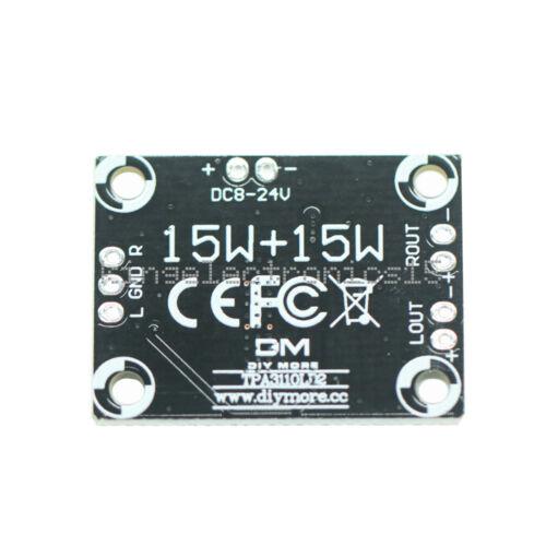 1PCS TPA3110 2X15W Digital Audio Stere Amplifier Module Board Mini Binaural K9