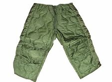 ARMY Military Surplus Green Trouser Hunting Pants Liner Cold Weather Medium SR