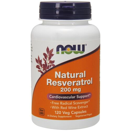 Now-Foods-Natural-Resveratrol-200Mg-120-Vegicaps-Made-in-USA-FREE-SHIPPING