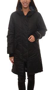 KangaROOS Winter-Jacke lange Stepp-Jacke für Damen im matten Design Winter-Mante