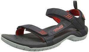 Teva-Mens-Tanza-Walking-Sandals-Grey-Red