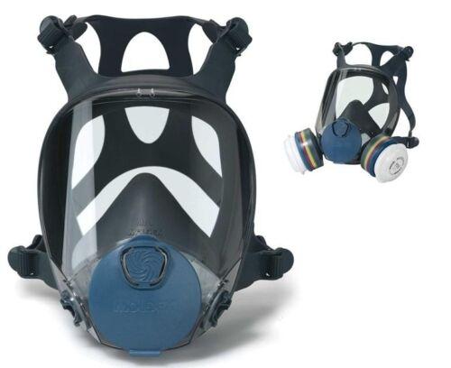 MOLDEX 9000 Series Full Face Respirator Dust /& Vapor Mask 9001 9002 9003