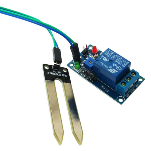 12V Relais Controller Bodenfeuchte Sensor automatische Bewässerung Ardu yiMEDE