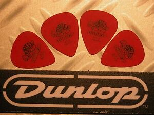 Médiators Tortex® Jim Dunlop Lot De 4 Médiators Tortex Standard 0,50 Mm Rouge Avx3xfxq-07184335-873528661