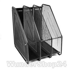 metall ablagen sortierstation ablagesystem stehsammler ordner f r schreibtisch ebay. Black Bedroom Furniture Sets. Home Design Ideas