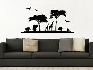 Wall Decal African Safari Nursery Decor