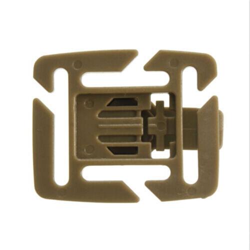 2PCS Hydration Bladder Tube Trap Hose Clip Strap For Molle Fits Camelbak ES