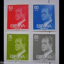 ESPAÑA 1981 EDIFIL 2601-2602-2603-2604 S.M DON JUAN CARLOS I