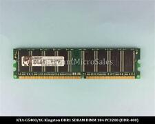 Kingston KTA-G5400/1G DDR 1GB 2x512MB PC-3200 Non ECC 400Mhz RAM Memory