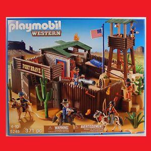 playmobil 5245 gro es western fort wilder westen cowboys. Black Bedroom Furniture Sets. Home Design Ideas