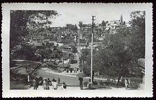 Carte photo MADAGASCAR .  Tananarive . escalier Colbert