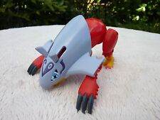 Raro Digimon Bandai Halsemon figura 2000 Buen Estado Usado no completar