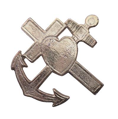 Faith Hope /& Charity Nickel-Plated Symbol For Orange Order Collarette