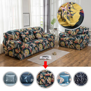 1-2-3-Seater-Stretch-Sofa-Couch-Lounge-Recliner-Chair-Slipcover-Protector-Cover