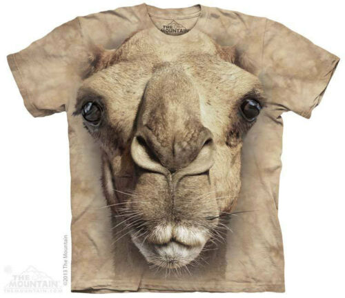 NEW BIG FACE CAMEL Ship of the Desert The Mountain T Shirt Adult Sizes