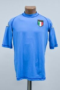 ITALY-NATIONAL-TEAM-2002-2003-HOME-FOOTBALL-SHIRT-JERSEY-KAPPA-SIZE-L-ADULT