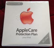 APPLECARE  PROTECTION PLAN pour ipod nano / shuffle ++ NEUF scellé + APPLE CARE