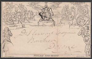 1840-1d-MULREADY-LETTERSHEET-BLACK-CROSS-FORME-5-A254-DUNBLANE-TO-DOUNE-SCOTLAND