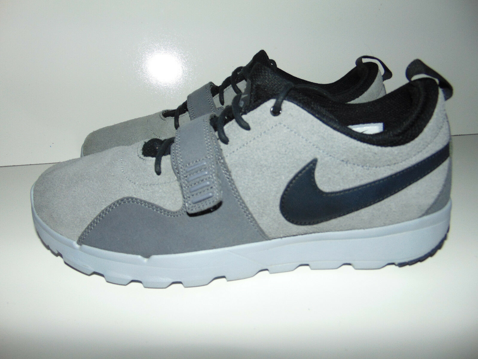 NIKE SB TRAINERENDOR L 806309-001 COOL GREY / BLACK-DARK GRAY-WOLF GRAY SIZE 12