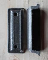 CAST IRON RIM LOCK DOOR KEEP 104mm ~ BRITISH MADE VICTORIAN RIMLOCK KEEPS ~ KP04