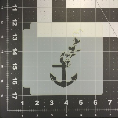 Ancrage d/'une plume 100 Stencil