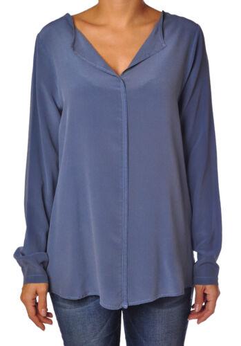 Donna Blu 706017c184055 Camicie bluse Soallure 8AnqBOxE