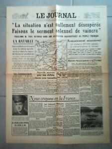 Fac-simile-Journal-LE-JOURNAL-19-MAI-1940