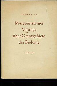 Marquartstein-Marquartsteiner-Vortraege-ueber-Grenzgebiete-der-Biologie-2-Auflage