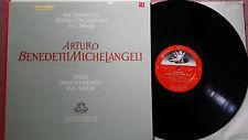 Angel S-35567 RARE Arturo Benedetti Michelangeli  Rachmaninoff Concerto 4