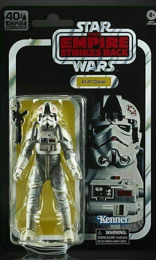 Star Wars Yoda Noir Série 40th Anniversaire Retro Action Figure