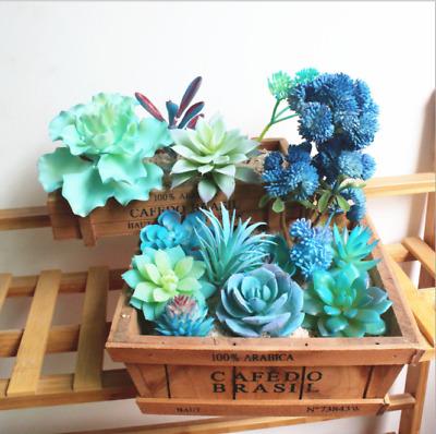 Mini Artificial Succulents Unkill Plant Fake Cactus Home Garden Decoration DIY