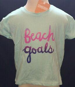 NWT-Gymboree-Jump-Into-Summer-Beach-Goals-Aqua-Blue-Crop-Top-Choose-4-5-6-14