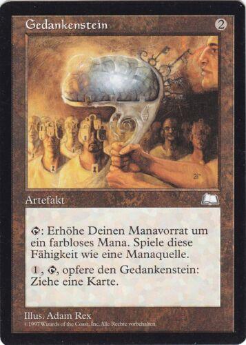 GER Mind Stone NM//EX Magic: The Gathering Gedankenstein Wetterlicht