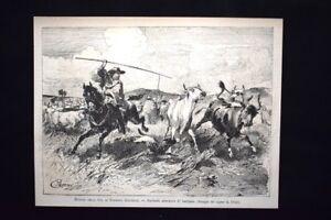 Episodi-vita-di-Giuseppe-Garibaldi-allevatore-di-bestiame-Incisione-del-1882