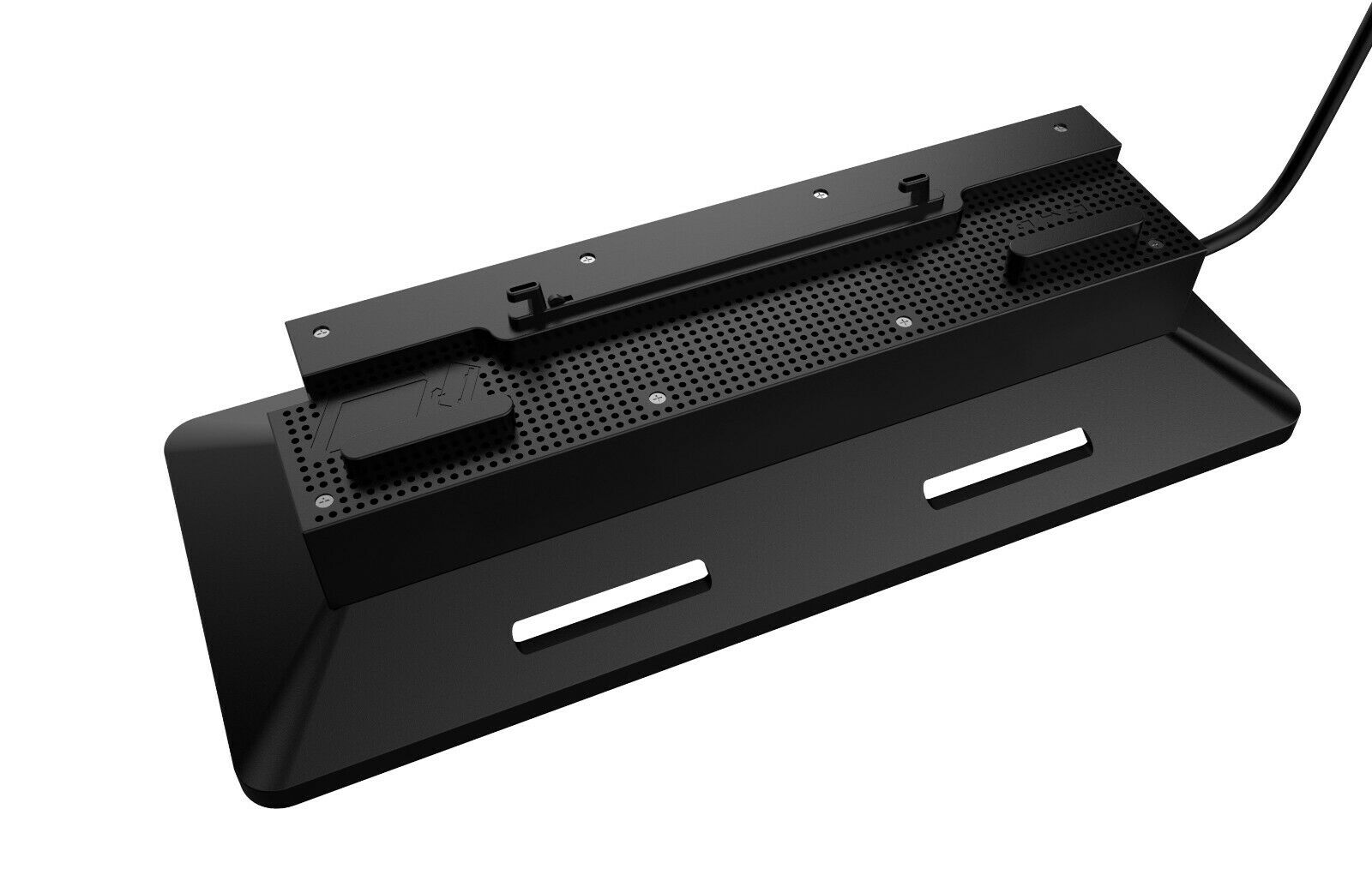 Vertical Cooling Ventilator Fan Stand for Xbox One X Console (Black) USB Powered