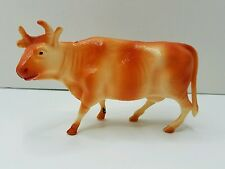 Vintage STASCO TOY Celluloid Cow Christmas Nativity Farm Animal Blow Mold Type