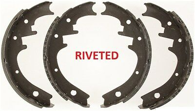 REAR BRAKE SHOES FORD JEEP LINCOLN MERCURY SAME FIT AS FORD D9AZ2200A RIVITED
