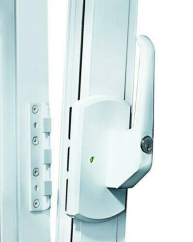 IKON 9M01 Krallfix4 Fenstersicherung Balkonsicherung abschließbarer Fenstergriff