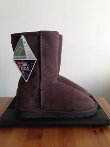 14575c17eb2 Details about New CHIC EMPIRE Classic UGG Boots Size Ladies 8 - NWT