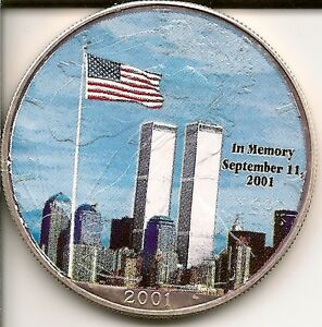 2001 American Eagle Silver Dollar Twin Towers Coin Ebay