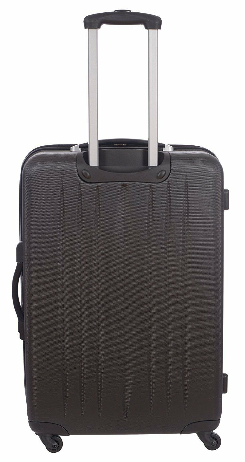 Black Swiss Travel Products 2 Piece Set 20  and 28 Tech Spinner