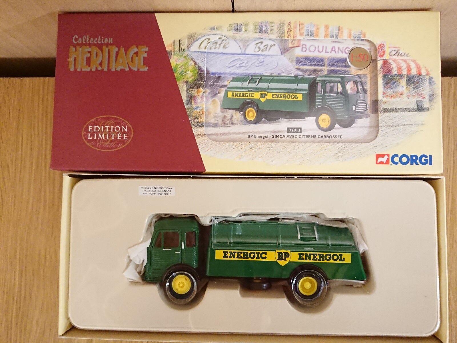 Corgi 72913 Simca Avec Citerne Carrossee BP ENERGOL Ltd Editon No. 0002 of 2200